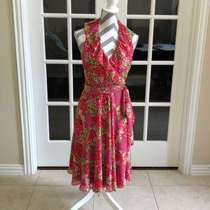 Pink Ralph Lauren wrap around